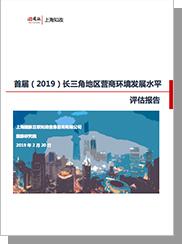 首届(2019)长三角地区营商环境发展水平评估报告
