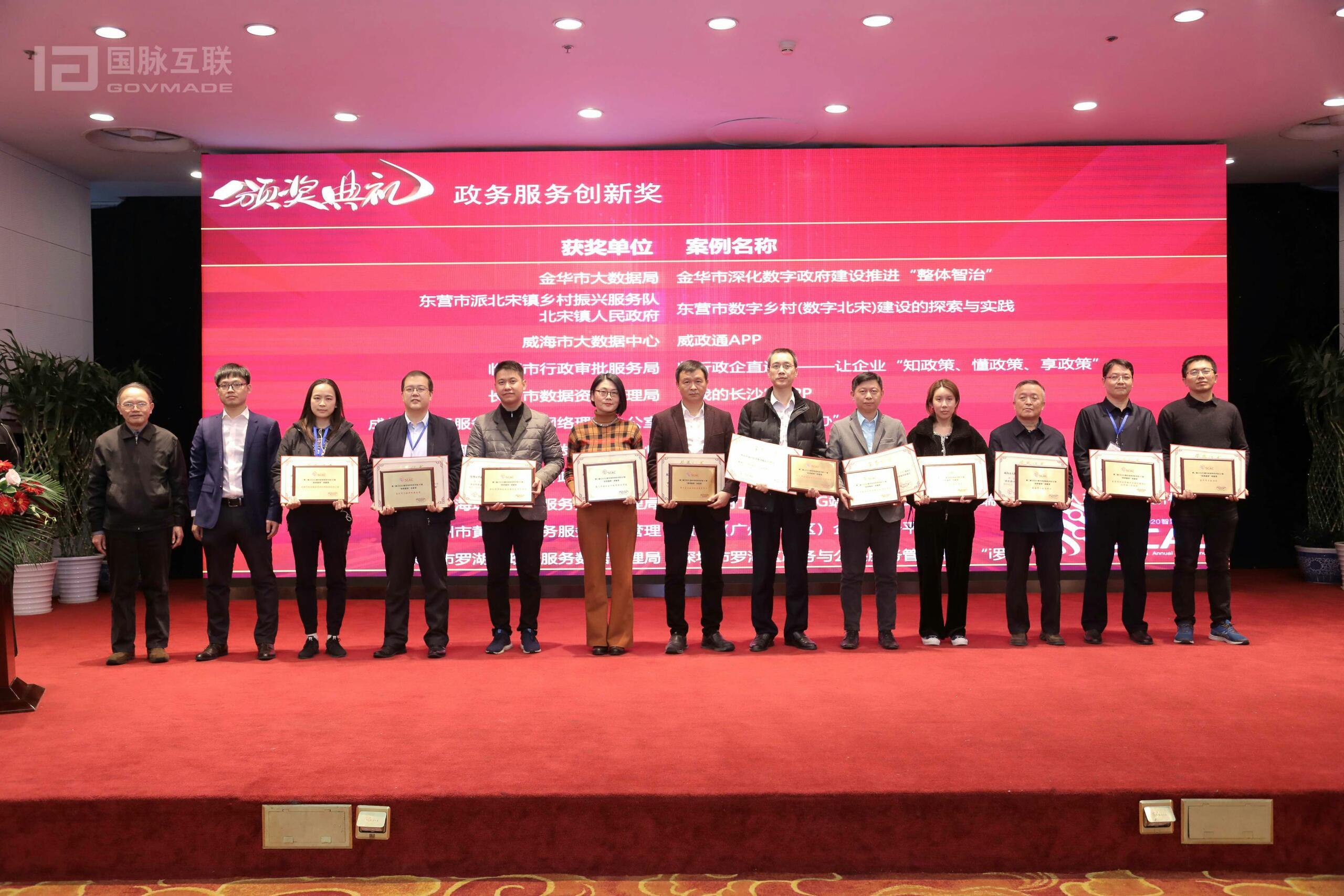 2020中国数字政府特色评选50强榜单出炉完结,16省55个创新案例获奖